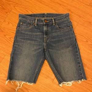 Levi's Cut off shorts So Dope